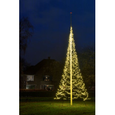 FAIRYBELL 360 LED 3 MTR+ MAST WARM WIT UITVERKOCHT