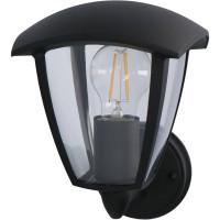 LED'S LIGHT CLASSIC OUTDOOR WANDLAMP E27 ZWART