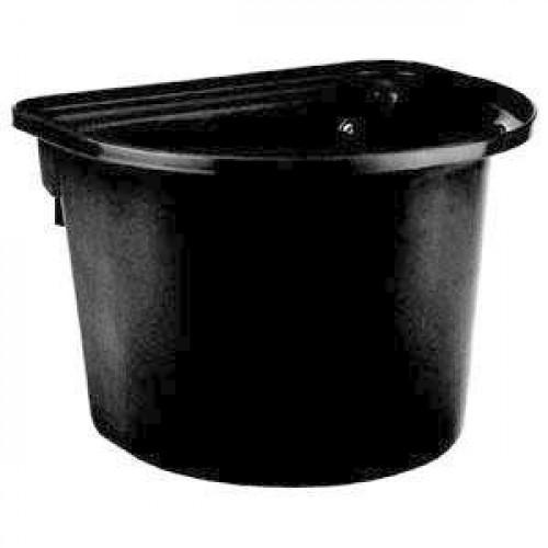 Voerbak Met Ophanghaken Zwart 12l