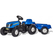 ROLLY TOYS NEW HOLLAND TVT 190 + AANHANGER